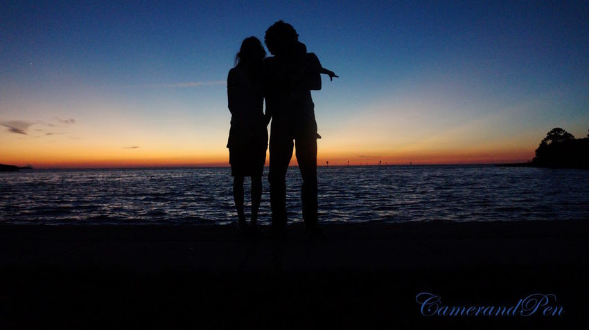 Family silhouette Sunset Sea Silhouette Beach Horizon Over Water Water People Nature Tranquility Tranquil Scene Three People Looking Out To The Ocean Beauty In Nature Standing Vacations Sky Scenics Relaxation EyeEmNewHere Weekiwachee Gulfofmexico Outdoors Landscape Night Dusk
