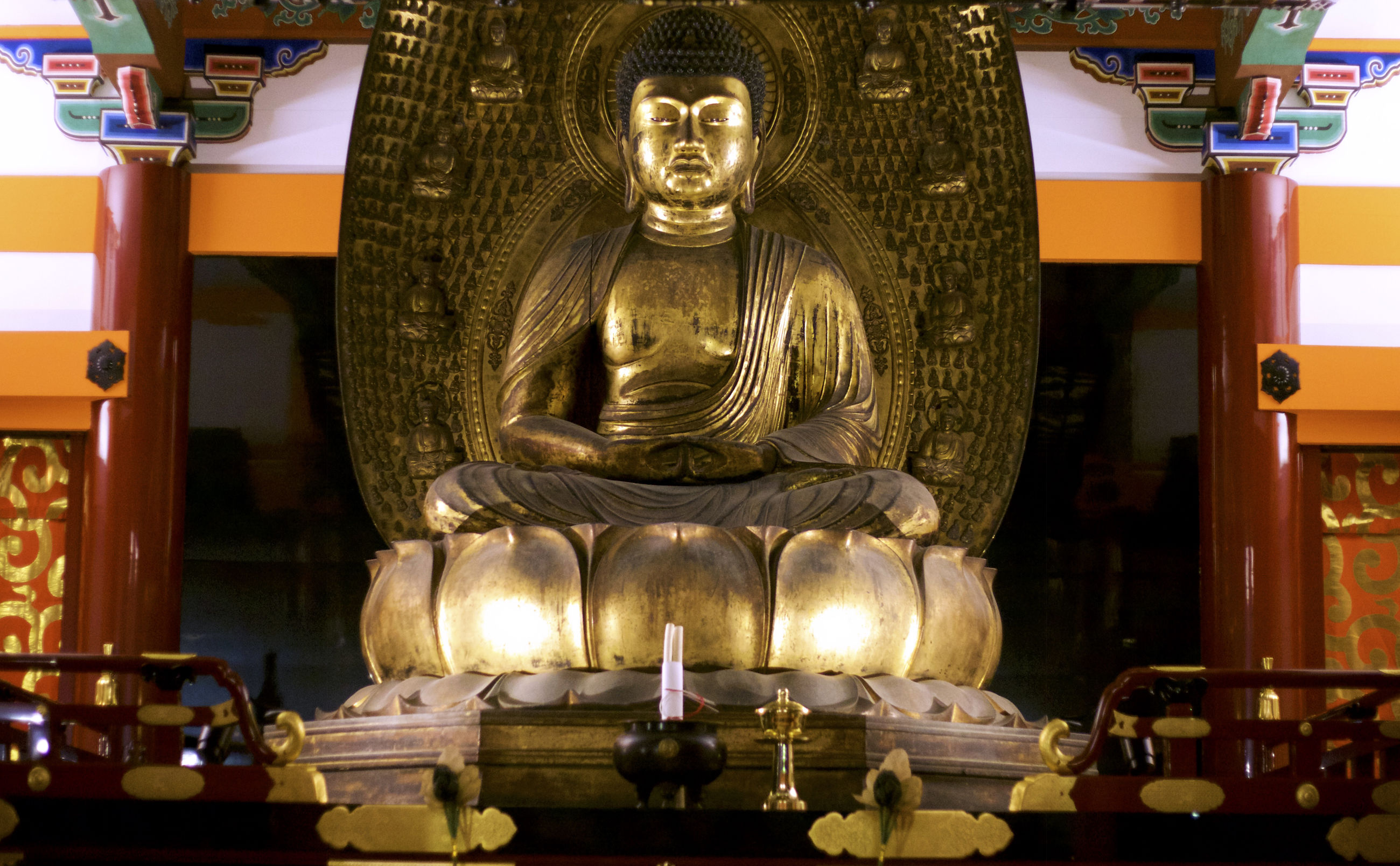 religion, statue, human representation, art and craft, spirituality, sculpture, male likeness, place of worship, gold colored, indoors, no people, close-up, day