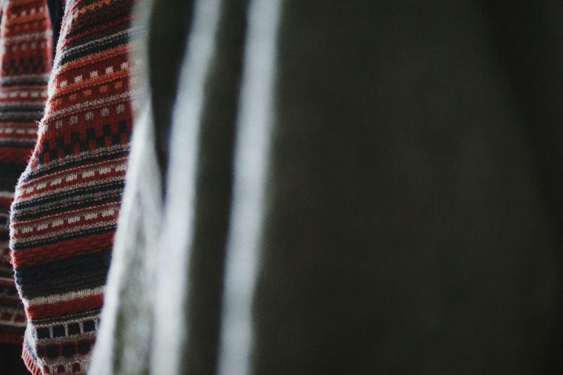 Close Up Of Textile At Home