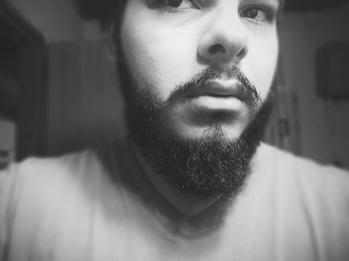 Black And White Black & White Beard Men Style Today's Hot Look Beardstyle Self Portrait Vscocam