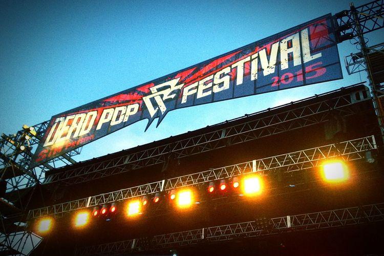 Relaxing Rockfestival Sim DEADPOPFESTIVAL2016 Japan