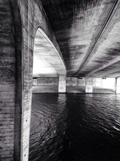 Concrete. It's better in Black And White Bridges_of_EyeEm