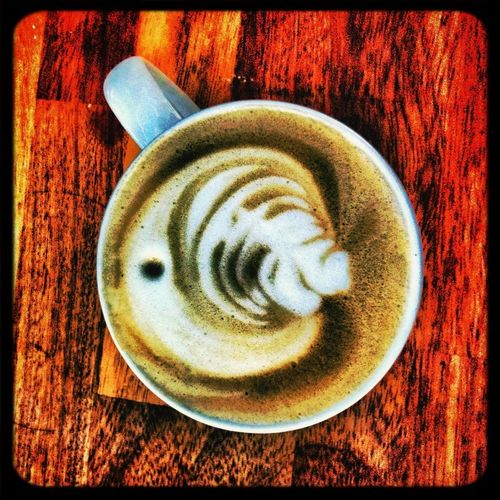 Latte art major break through!!