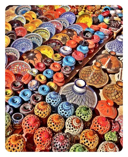 Colors Handmade Handcrafted Colour Of Life IPhoneography Tunisia Tunisie Market Sousse Pot
