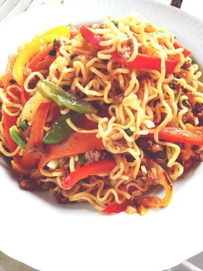 In The Kitchen Delicious Meal I Made Yummy Singapore noodles! Bon Apetit :))