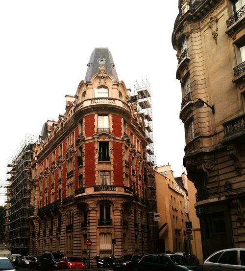 I want to live in this building .. Paris Street Old Building  Construction Beautiful City I'm In Love With Ya