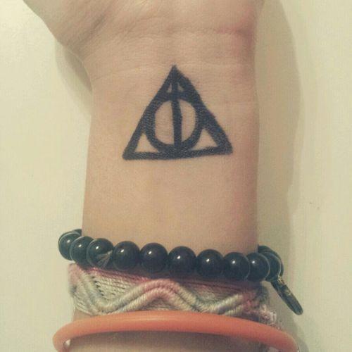 Harrypotter Eidonidellamorte Tatuaggio Love ?