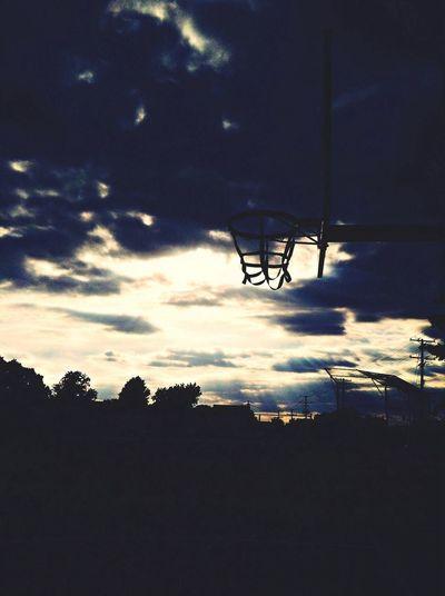 Basket Sky Sunrays