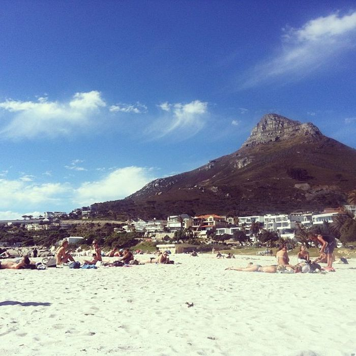First beach day of the summer Lovecapetown Meetsouthafrica