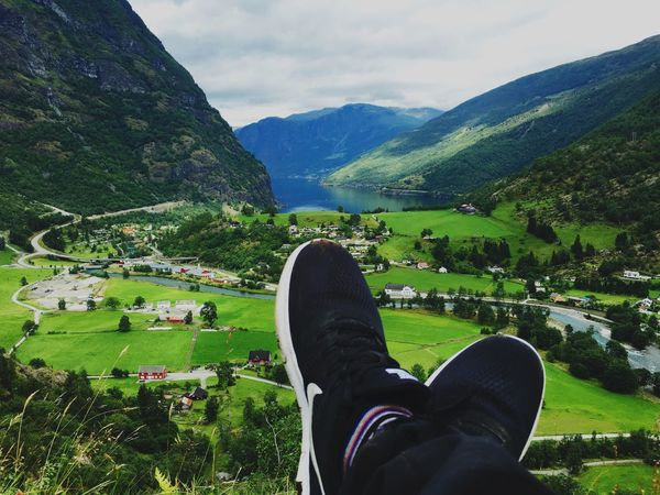 Flaam Norway Mountain Nature Scenics Adventure Outdoors Sky Traveling Landscape Experience Photography Water Lake Flåm Summer
