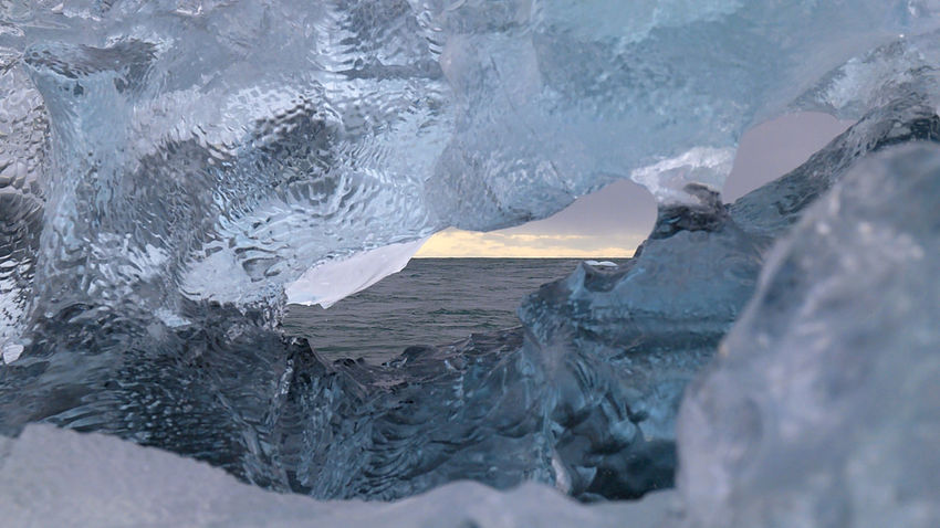 Blue Ice Collection Iceland Window In Ice Beauty In Nature Blue Ice Glacier Close-up Diamond Beach Distant Horizon Frozen Glacier Horizon Over Water Ice Iceberg Iceberg - Ice Formation Jökulsárlón Glaciar Lagoon Nature No People Outdoors Scenics Sea Sky Tourism Tranquility Water Winter