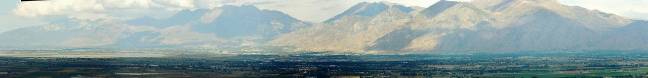 Provo Utah Panorama Landscape