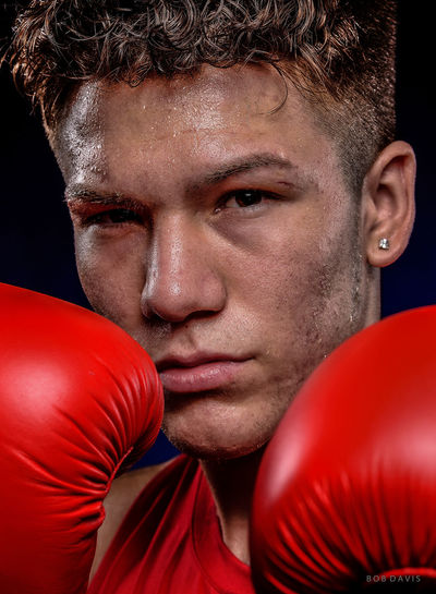 Nico Hernandez 2016 Olympic Boxing Silver Medalist US Olympic Boxing Team 2016 Olympics Boxing Boxing Gloves Close-up Focus On Foreground Headshot Nico Hernandez Olympics Serious Silver Medalist Team USA Young Adult