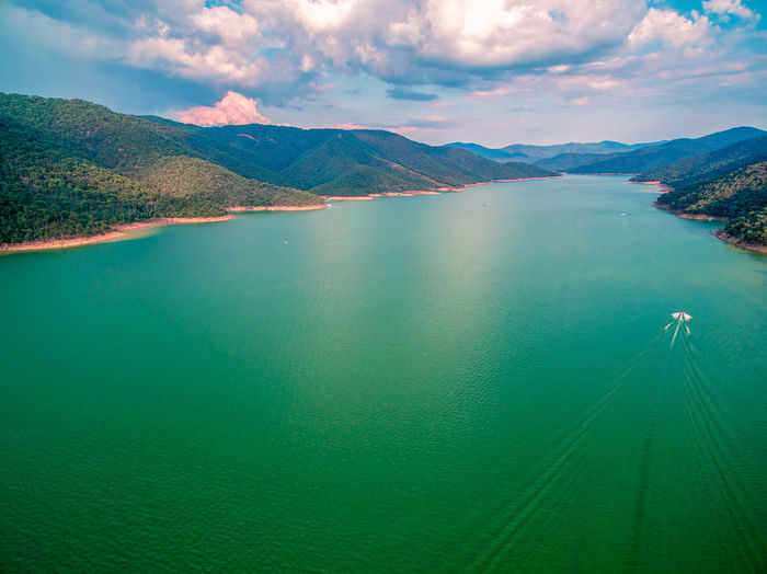 Lake Eildon, Victoria, Australia Australia Australian Landscape Beautiful Drone  Panorama Panoramic Recreation  Aerial View Beauty In Nature Cloud - Sky Countryside Day Drone Photography Eildon Eildon Dam Lake Lake Eildon Landscape Mountain Mountain Range Nature No People Outdoors Recreational Pursuit Scenics Sea Sky Tranquil Scene Tranquility Travel Destinations Water