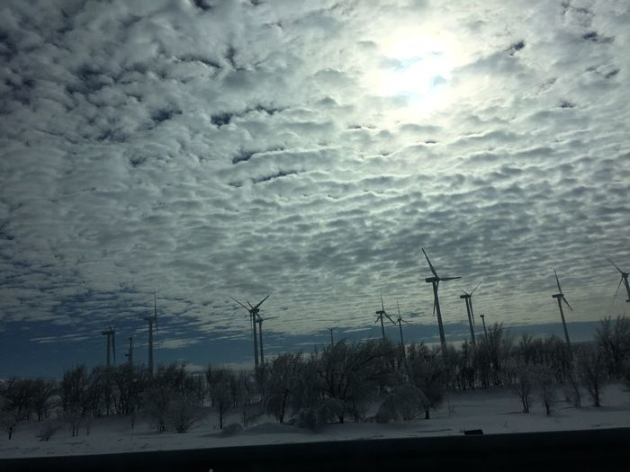 Nature Cloud - Sky Sky No People Beauty In Nature Tranquility Tree Scenics Snow Almaty Kazakhstan Road Tree Trees Tranquil Scene Outdoors Landscape Storm Cloud Cold Temperature Day Wind Energy Power Eolic Mill