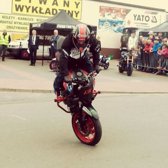 Moto Stunt Beauty Hobby Urban Sports