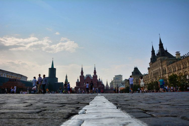 Red square Travel Photography Summerinrussia