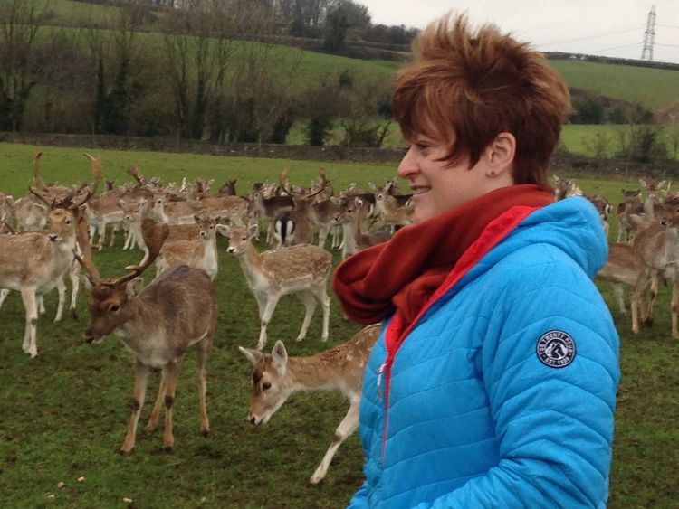 Feeding Animals Close-up Real People Large Group Of Animals Outdoors Leisure Activity Field New Year's Day Winter Morning Something Different An Experience Making Memories! :) Happiness Wiltshire deer, did someone say deer?
