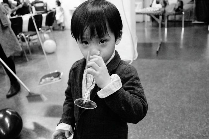 Things I Like Drinking Glass Drinking Kiddo Party Time Black Suit Black & White Photography EyeEm Gallery