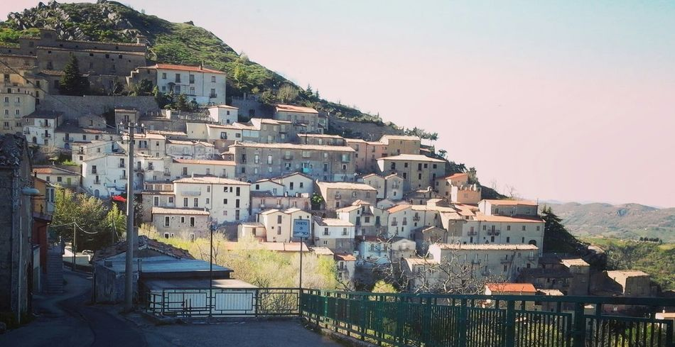 San Fele Mountain Little Town