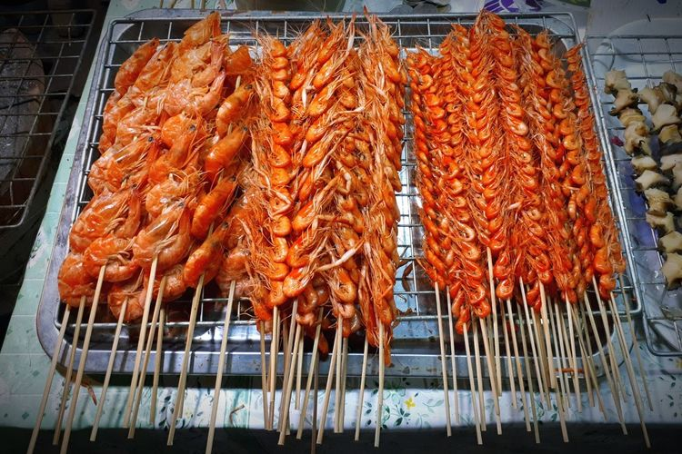 Food And Drink Food Market Seafood Freshness Healthy Eating Ready-to-eat Lifestyles Asianfood Tiny Shrimps Grilled Grilling Size Small Amazing Food Be. Ready. EyeEmNewHere