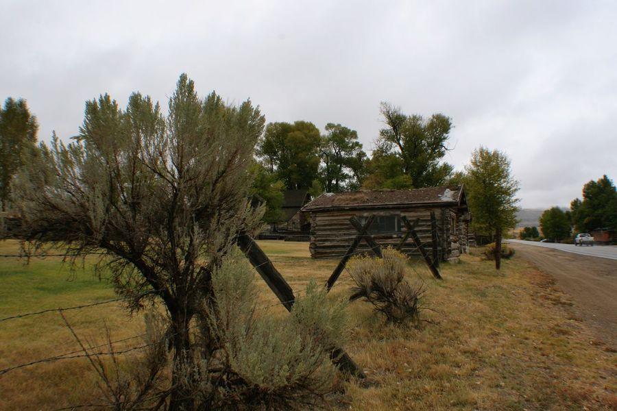 Nevada City Log Cabin Montana American West Old West  Log Cabin Ghost Town Old House Nevada City