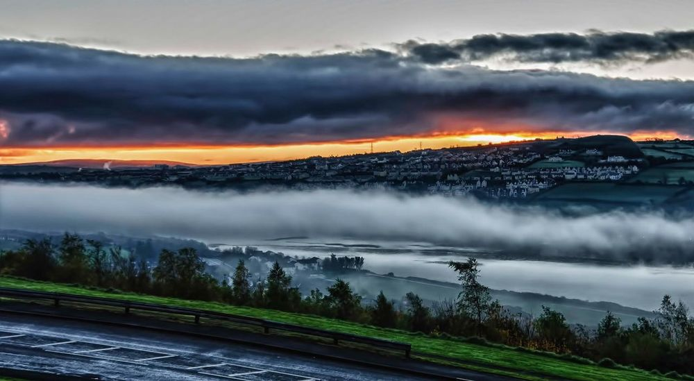 Derrylondonderry Misty Morning