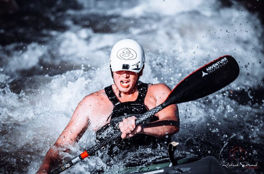 Nikonphotography Nikon Sport Extreme Sports One Person Adult Men Motion Adventure Sports Equipment Water Front View