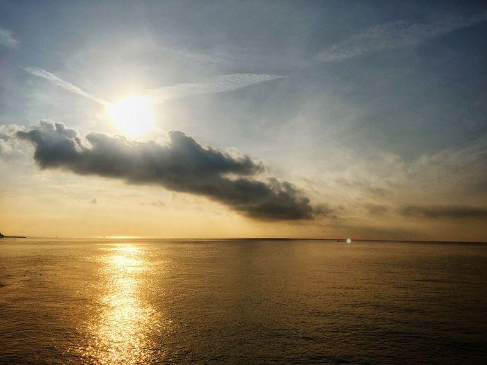 Water Sky Sea Scenics - Nature Horizon Beauty In Nature Horizon Over Water