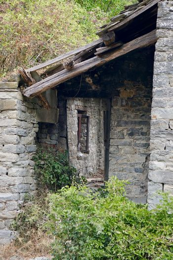 Old farm rattled Abandoned Architecture Building Exterior Built Structure Day Nature No People Outdoors Plant Tree Wood - Material