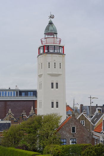 light house in Harlingen, Netherlands Architecture Brick Building Exterior Built Structure City Clinker Day History Lighthouse Lighthouse Netherlands Netherlands ❤ No People Outdoors Pension Sky