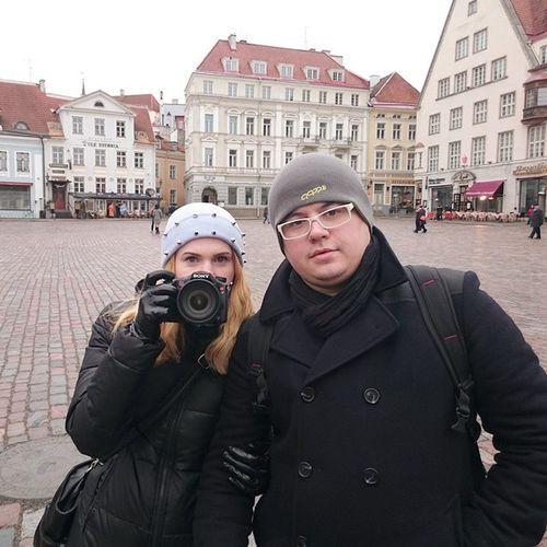 Tallinn Oldcity Square таллин ратушная площадь прогулка Travel Trip путешествие