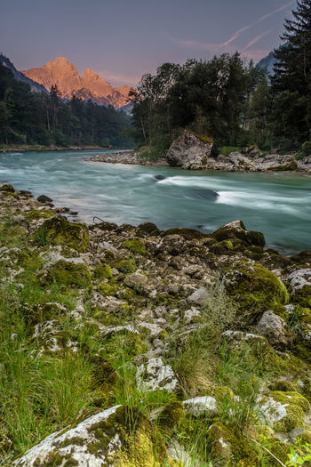 Austria Beauty In Nature Day Gesäuse Landscape Mountain Nature No People Outdoors River Rock - Object Scenics Sky Styria Tranquil Scene Tranquility Tree Water