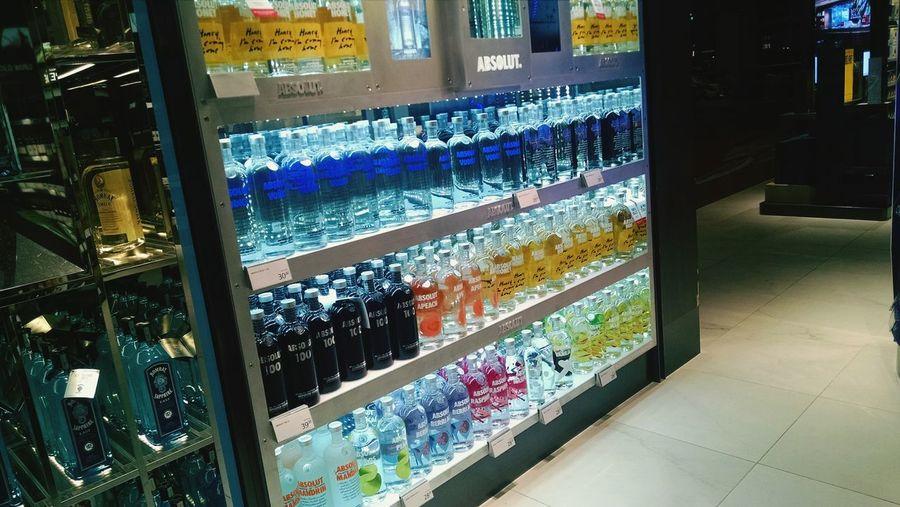 Singapore Changi Airport Dutyfree Alchol Store