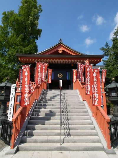 Relaxing Taking Photos Japanese Temple Blue Sky Japan Photography Japan Wideangle Walking Around From My Point Of View Japanese Culture