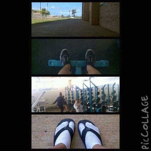 It was a workout kinda day. LP KapoleiHighSchool WeightLiftingRoom Gettinginshape VolleyballConditioning