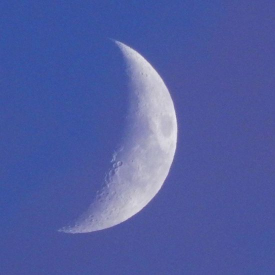 Lune Moon Sky Ciel Night Nuit Cratere