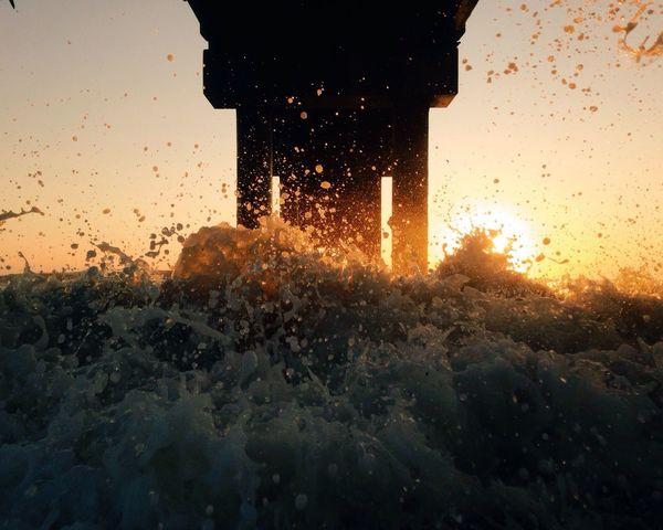 As summer fades away. Silhouette EyeEm Best Shots - Sunsets + Sunrise Florida Huffington Post Stories