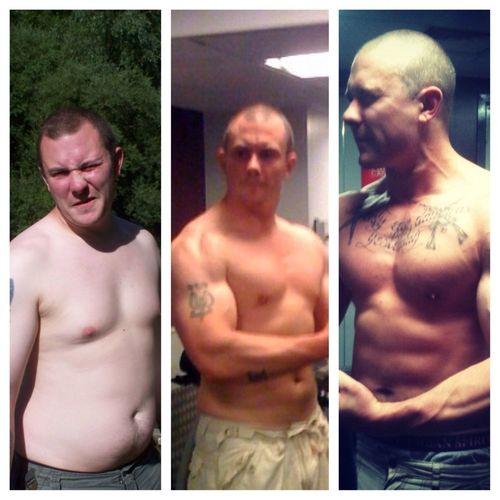 Progress pic 2 years of training