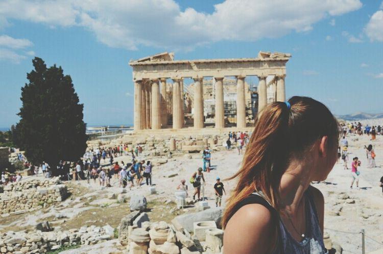 un' occhiata nel tempo.. Atene Stories From The City