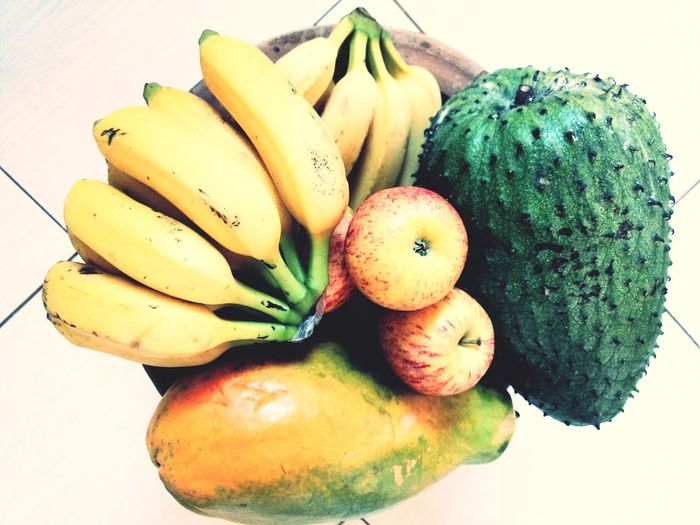 Tropical Fruit Tropical Fruits Salad Fruit Eyeem Market Graviola Flavors Of Summer EyeEm Selects CarmemMiranda Fruit Healthy Eating Food And Drink Banana Freshness Food Green Color Multi Colored Indoors  Day No People Close-up