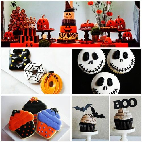 MTO Halloween Cupcake Cake Dessertbuffet cookie for queries contact 09166519902