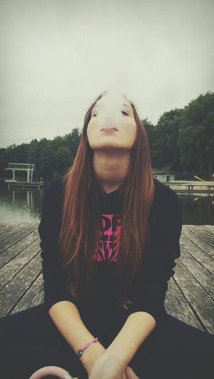 smoke ♥♥ Yurlet_smokeportraits Photography Hanging Out Changing The World