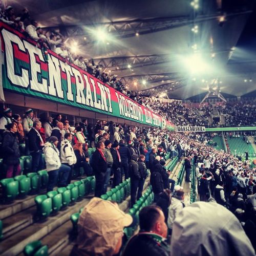 Warsaw Legia Football Supporters