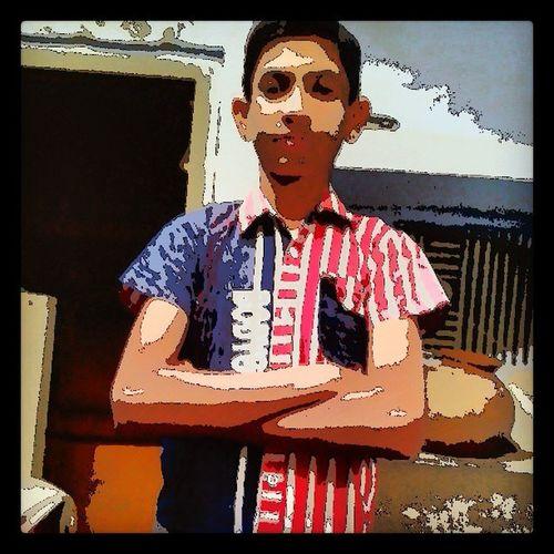 My brother Govind .... in cartoon... shot