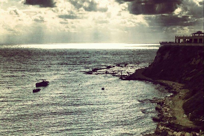 Seaside Winter Sky Syria  Mediterranean  Latakia