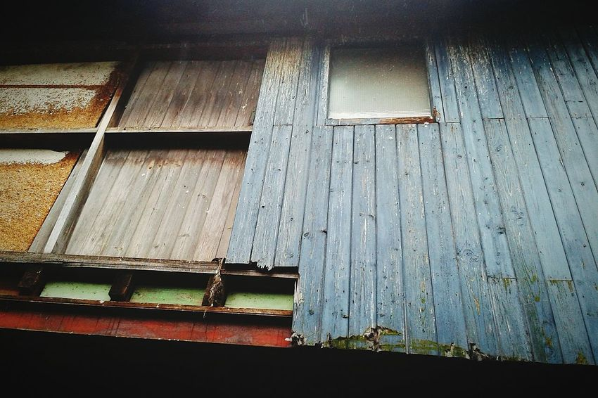 Cladding Wooden Abandoned & Derelict Mill Window Rsj Steel Pigeons Grooved Timber