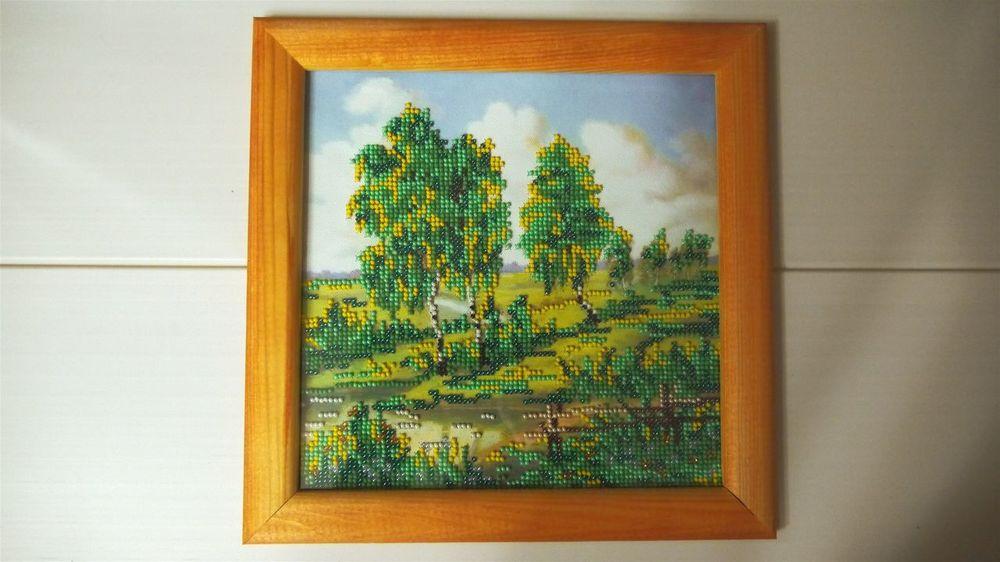 Respect For The Good Taste Handmade Hobby Nature Beaded Embroidery Beaded