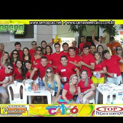 Esse é o nosso bloco! Blocoktux êra Carnavaldecaico Carnaval2014