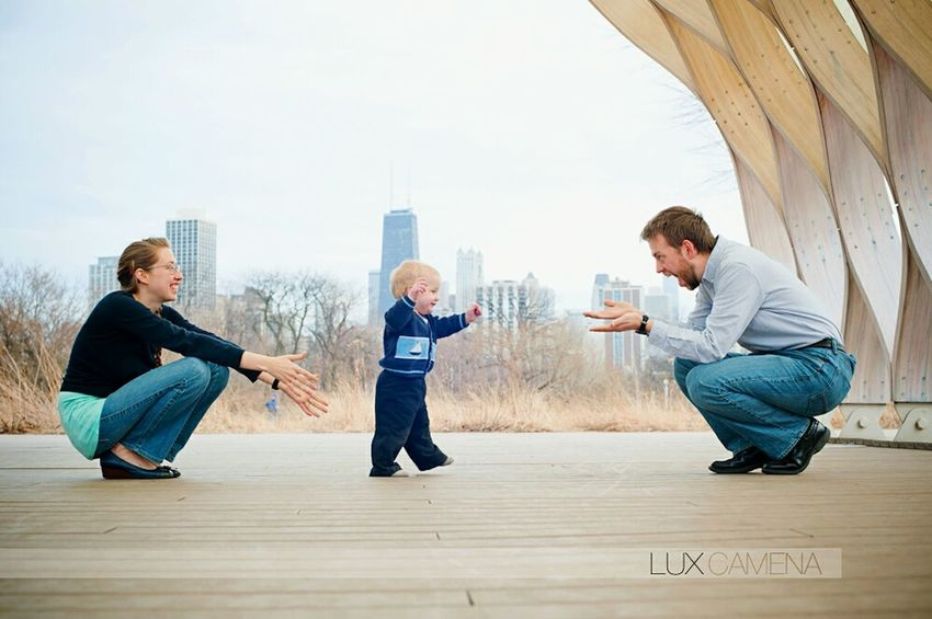 Family shot in Lincoln Park with the Segan's! Family Lincolnpark